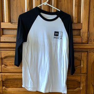 Men's RVCA 3/4 T-shirt (Small)